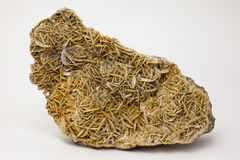 矿物:菱铁矿 免版税库存图片