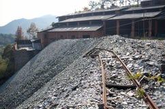 被放弃的矿 库存图片