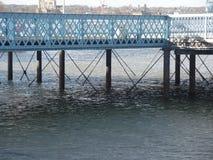 码头在Chatham,肯特 免版税库存图片