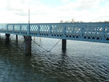 码头在Chatham,肯特 免版税库存照片