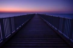码头在Limni地区,塞浦路斯 免版税图库摄影