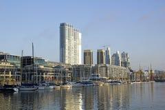 码头布宜诺斯艾利斯第2.港。 免版税库存照片
