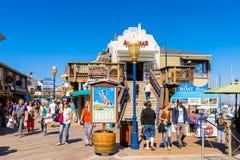 码头旧金山39  免版税图库摄影