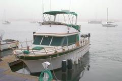 码头游艇 库存照片