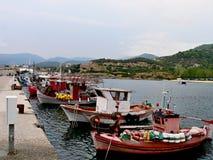 码头的Sarti视图 库存照片