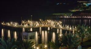 码头,船坞在海 库存照片