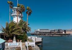 码头39个区域在旧金山美国 库存照片
