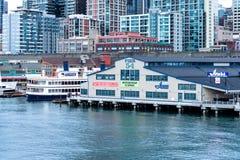 码头54在西雅图 免版税库存图片