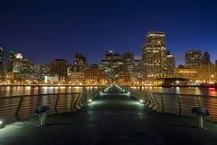 码头14 -旧金山 免版税库存图片