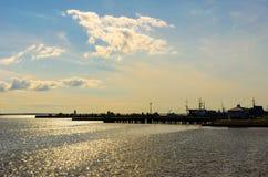 码头 库存照片