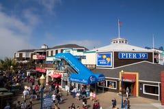 码头39,旧金山 库存图片