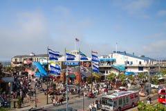 码头39,旧金山 免版税库存图片
