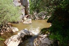 洱码河图片峡谷  库存照片
