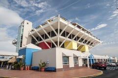 码头在圣彼德堡,佛罗里达 库存照片