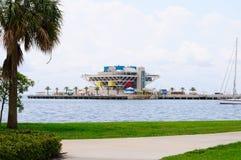 圣彼德堡佛罗里达码头 免版税库存图片