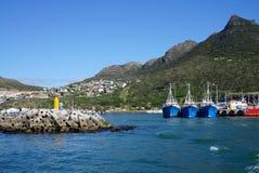 码头在开普敦,南非 库存照片