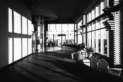 码头的内部在Caesars购物在大西洋城,新的Jers 免版税图库摄影