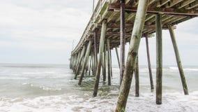码头,弗吉尼亚海滩 库存图片