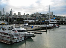 码头39,旧金山,加利福尼亚 库存照片