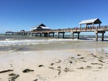 码头60, Clearwater,佛罗里达 库存照片