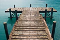 码头 免版税库存图片