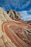 砂岩地层 库存照片