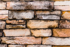 砂岩墙壁表面 图库摄影