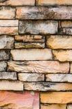 砂岩墙壁表面 库存照片