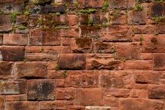 砂岩墙壁 库存照片