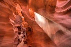 砂岩峡谷 库存照片