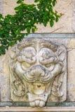 砂岩狮子雕象 库存图片