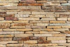 砂岩砖墙纹理背景 图库摄影