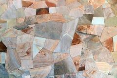 砂岩详细墙壁样式 免版税图库摄影