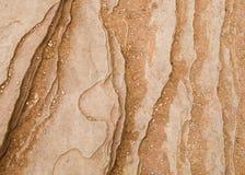 砂岩详细的背景在马掌弯的 图库摄影