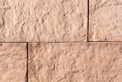 砂岩铺磁砖了墙壁 纹理,背景 库存图片