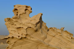 砂岩雕塑 库存照片