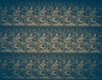 砂岩雕刻抽象背景无缝天使wer 免版税库存照片