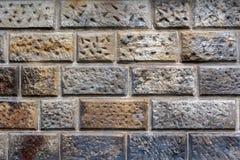 砂岩cladded墙壁4 库存照片