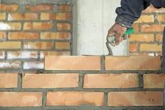 砌砖工 免版税图库摄影