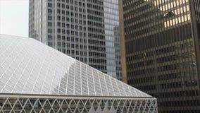 砍刀推力-街市西雅图 股票录像
