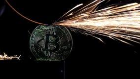 研在Bitcoin的电轮子 股票录像