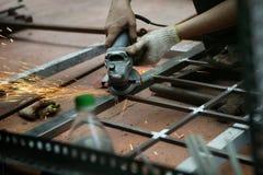 研的焊接 免版税库存照片