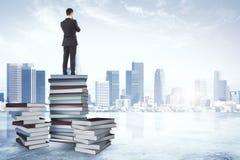 研究、教育和未来概念 免版税库存照片