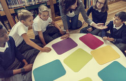 研究学习学会学会教室概念 图库摄影