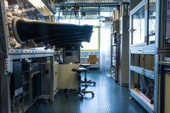 研究实验室大学科学发展手套箱太阳 免版税库存照片