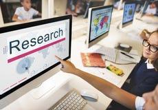研究教育探险信息概念 免版税库存图片