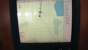 研究远征控制板运输南极洲海洋船  股票录像