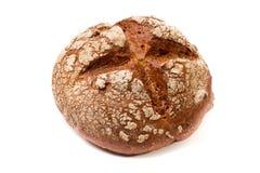 研面包棕色粗糙的黑暗在周围 库存图片