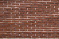 砖丹麦红色墙壁 库存照片