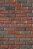 砖仿造墙壁 免版税库存照片